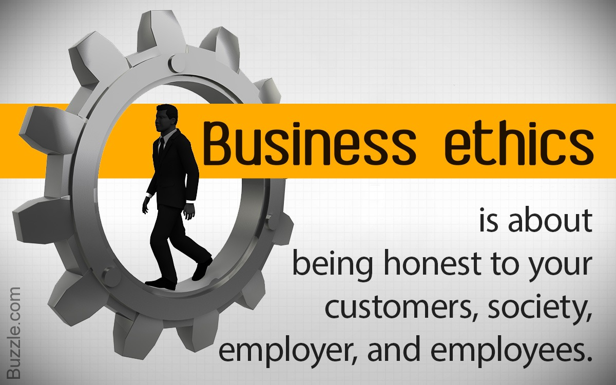 The features of business ethics include various points like ethical values, relative terms, the interest of society, etc.